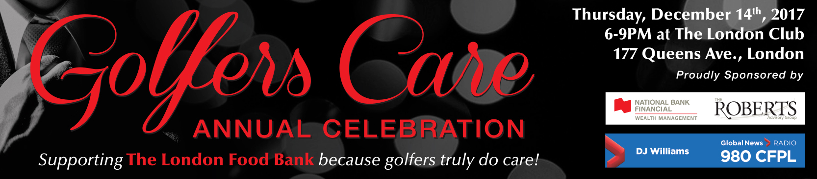 2017 Golfers Care Banner